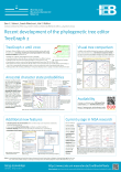 Version 2.5.0 of TreeGraph 2 released and presented at GCB